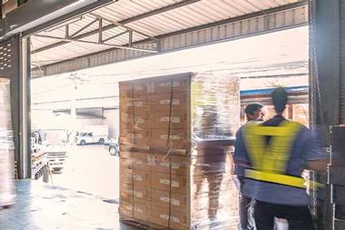 Large pallet Courier Services  in UK